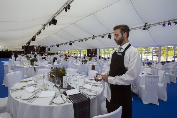 Conference Tent at Aveimore