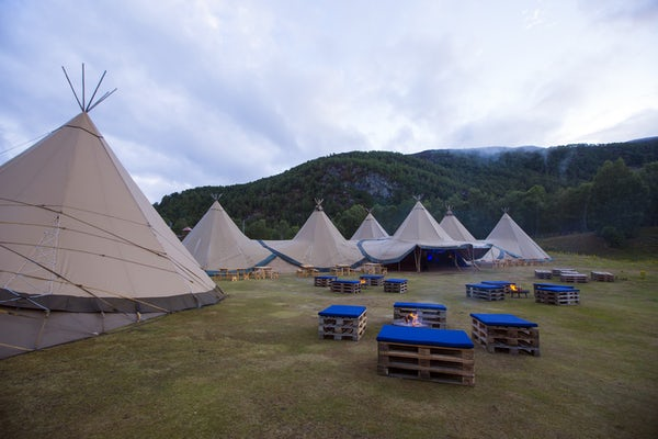 Tipi's at Aviemore