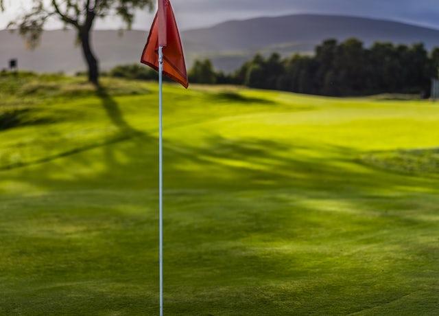 Spey Valley Golf Flag