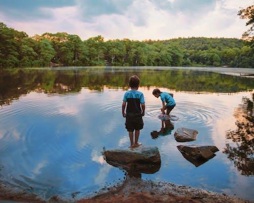 Children In Loch