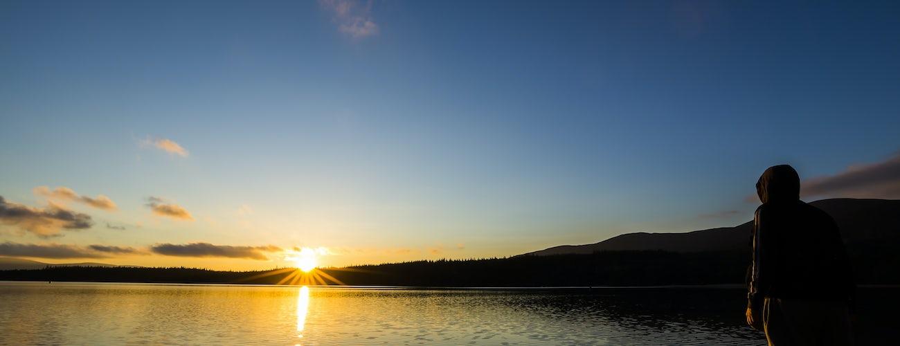 Loch Morlich at Dusk