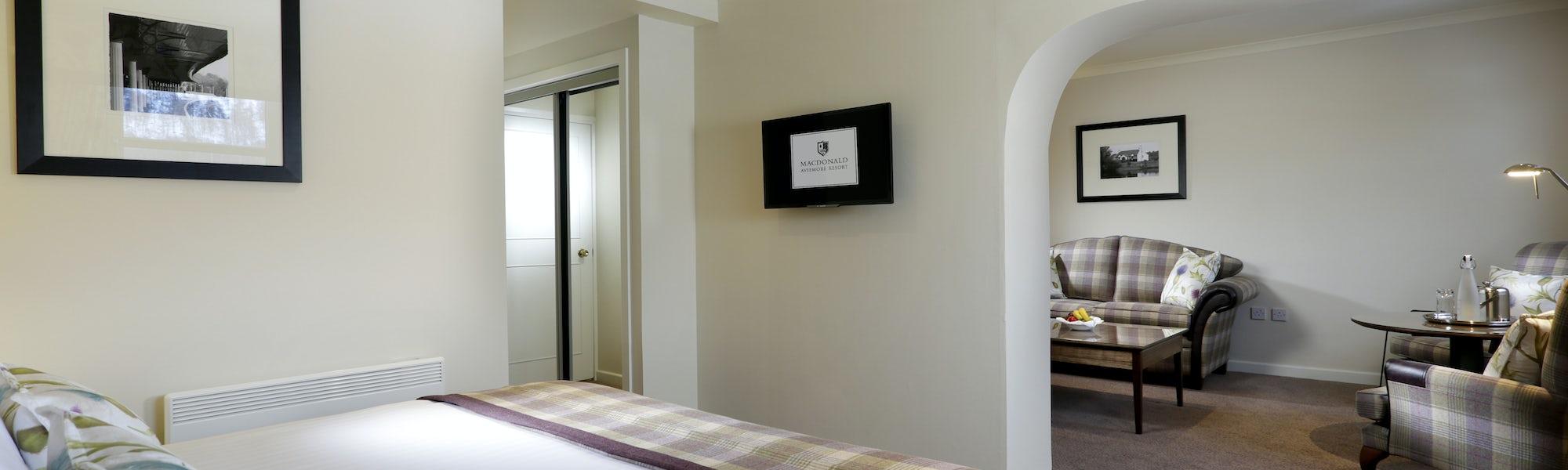 Craigellachie Suite Bedroom, Morlich