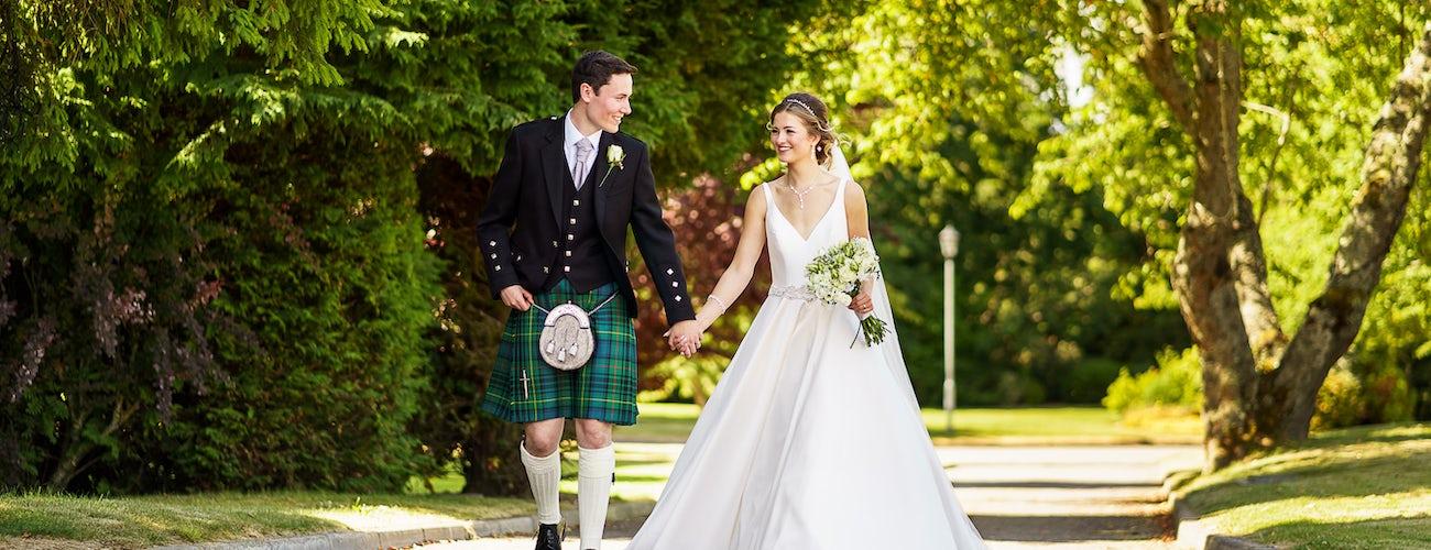 Wedding in the gardens