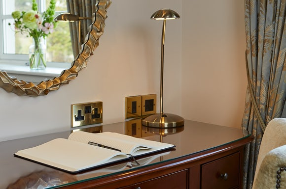 Double Room Desk View