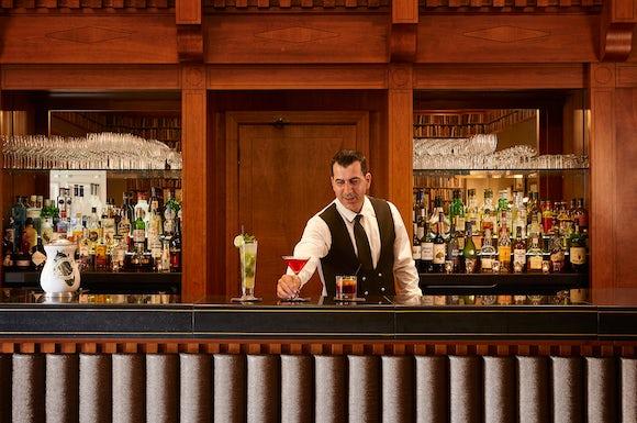 Cocktails at Colonnade Bath Spa