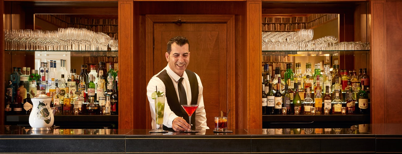 Cocktails at Bath Spa