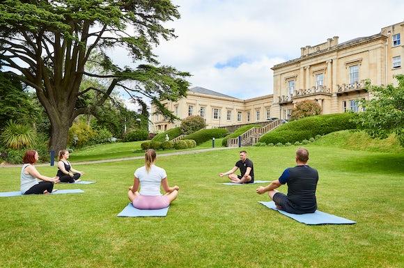 Outdoor Yoga in Bath