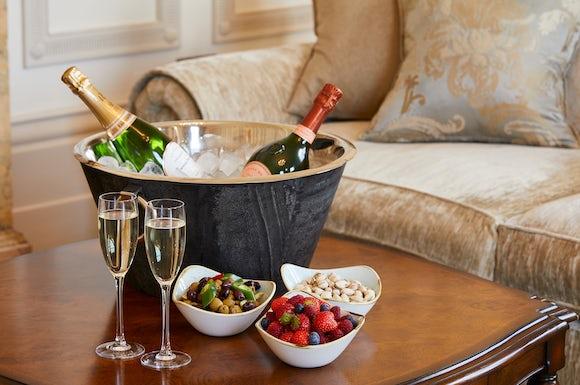 Champagne in The Grange