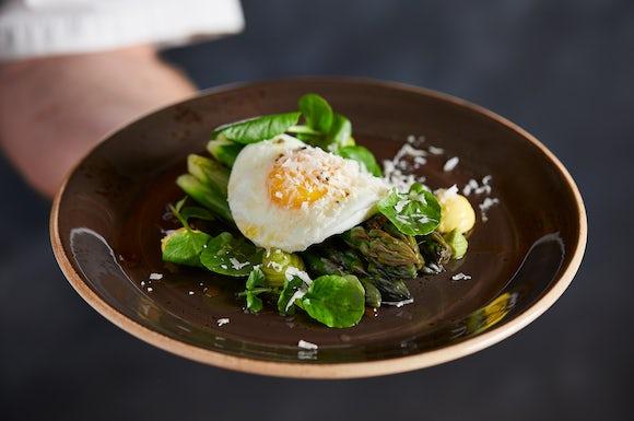 Asparagus Duck Egg Parmesan Bath Spa