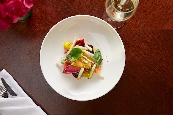 Beetroot Apple Hazlenut Salad