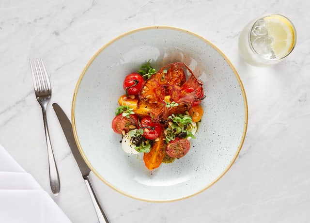 Heritage Tomato Goats Curd