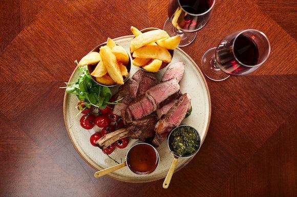 Rib of Beef at Bath Spa