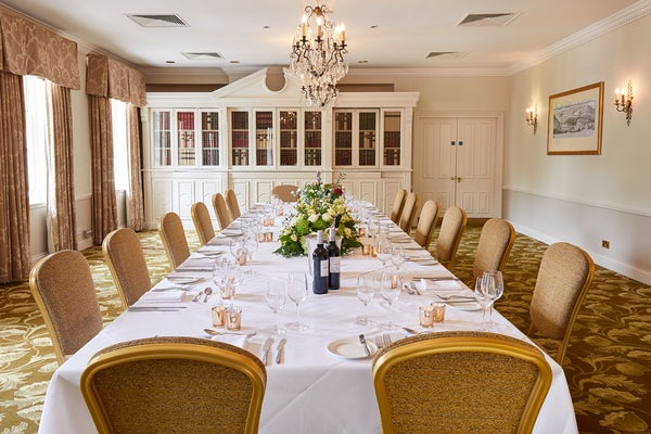 Kennet Room Private Dining Set-Up