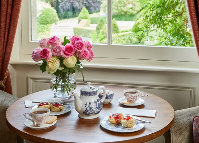 Scones in the Drawing Room at Bath Spa