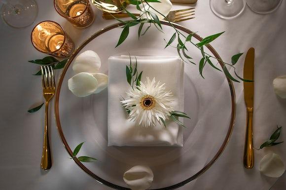 Royal Wedding Dressed Plate