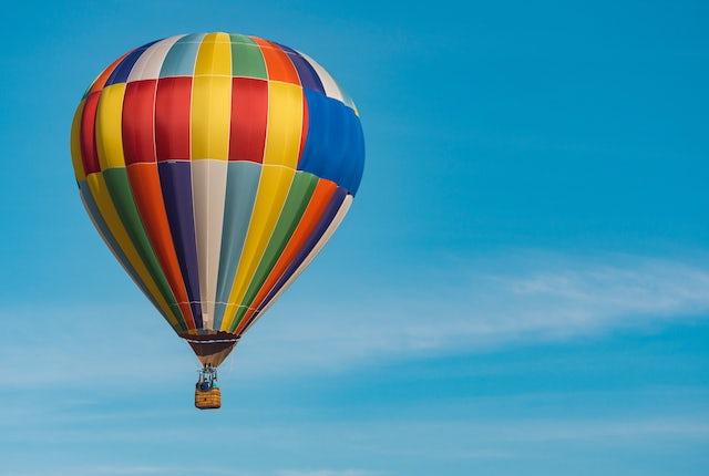 Hot Air Ballon Bath