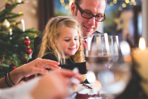 Dad & Daughter Christmas Lunch