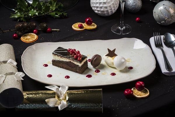 Festive Chocolate Dessert