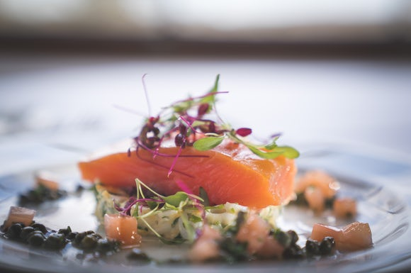 Wedding Salmon Dish