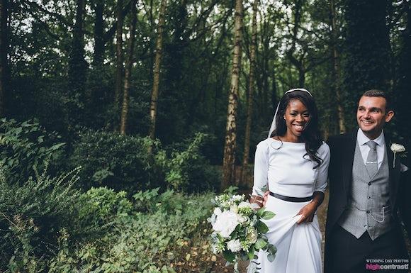 Bride & Groom Kilhey Court Weddings