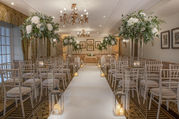 Compleat Angler Wedding Ceremony