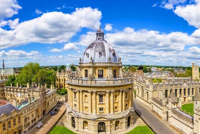 Oxford City Sunny Day