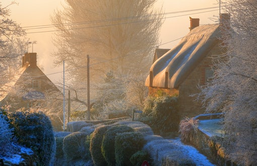 Winter in Cotswolds