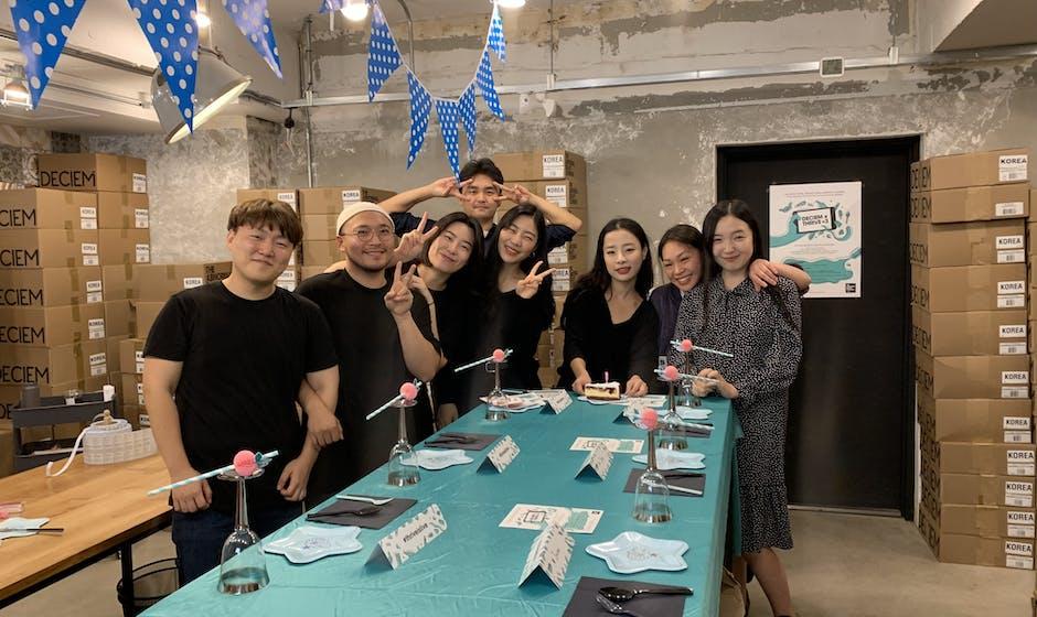 DECIEM launch day team