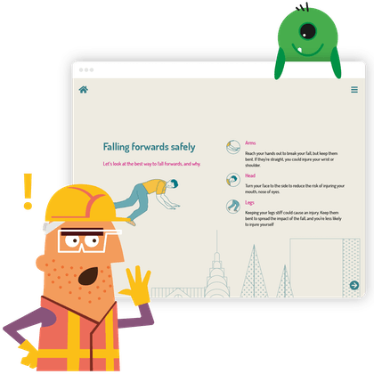 Health and safety microlearning