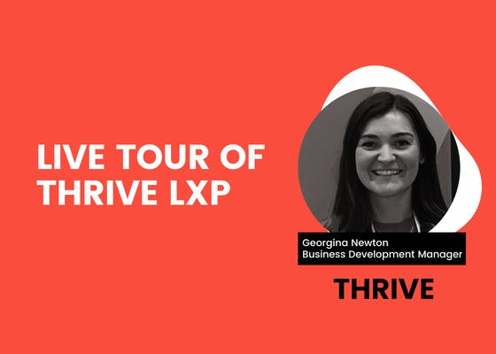 Live tour of THRIVE LXP