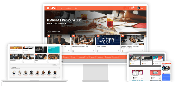 THRIVE LXP across devices