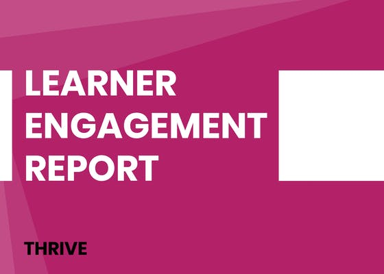 Learner engagement report