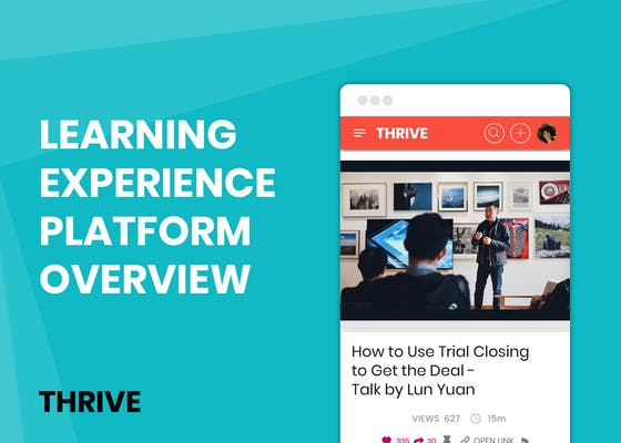 Learning Experience Platform overview