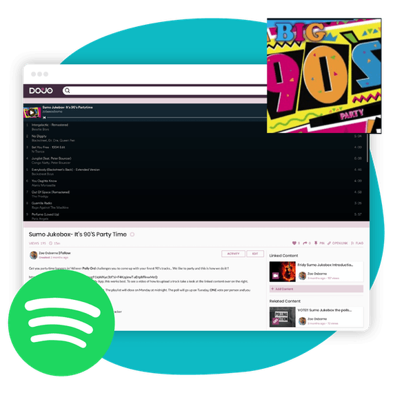 Spotify campaign to stay connected