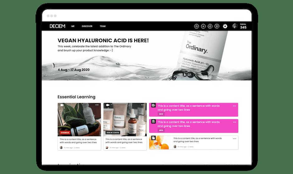 New homepage enhancements