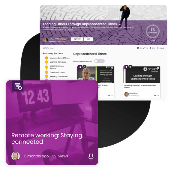 Brakes supporting employees remote working
