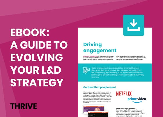 A guide to evolving your L&D strategy