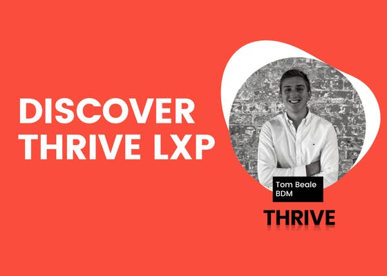 THRIVE LXP demo for government organisations