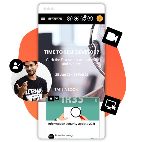 Brookson learning experience platform