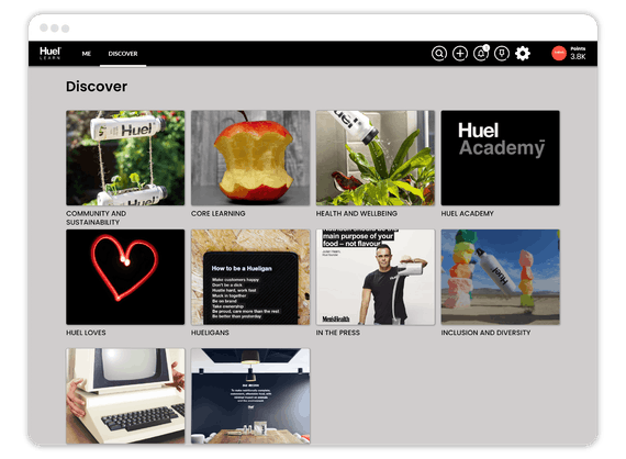 huel learning experience platform