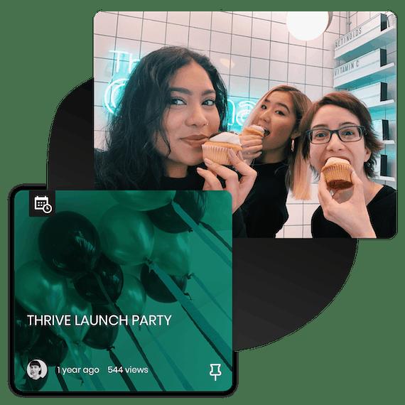 THRIVE Launch Party Deciem