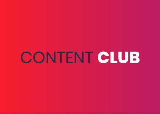 Introducing the Content Club
