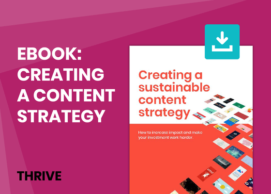 Creating a sustainable content strategy
