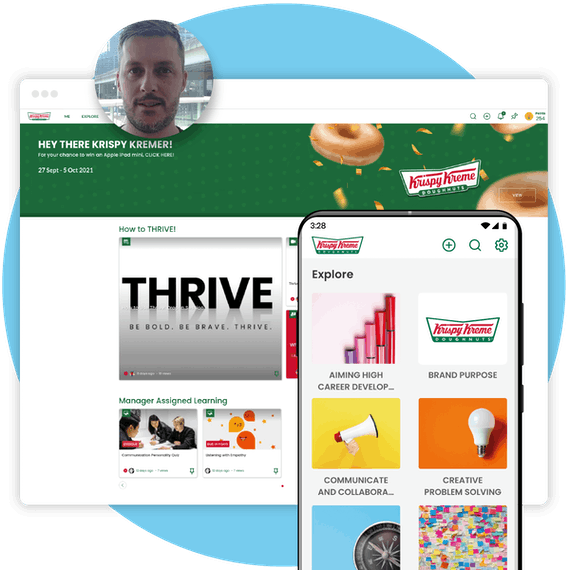 Krispy Kreme homepage