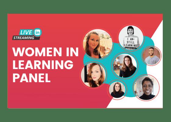 Women In Learning Panel