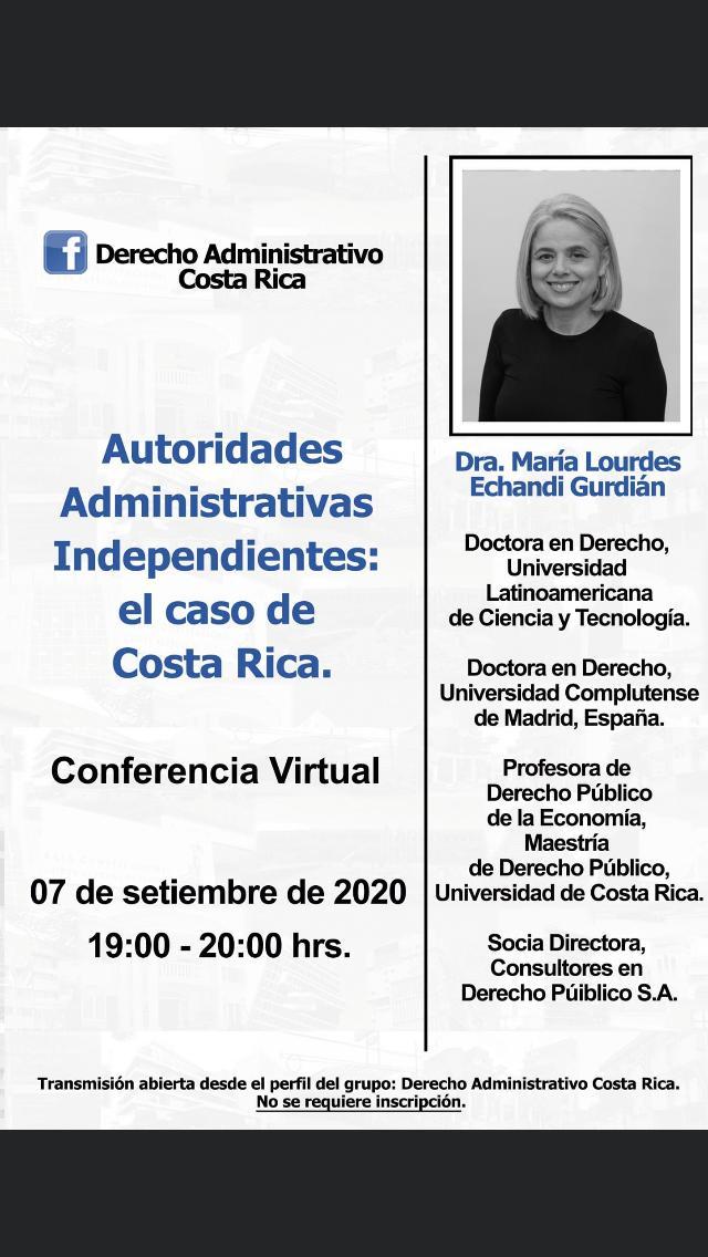 Autoridades Administrativas Independientes: el caso de Costa Rica