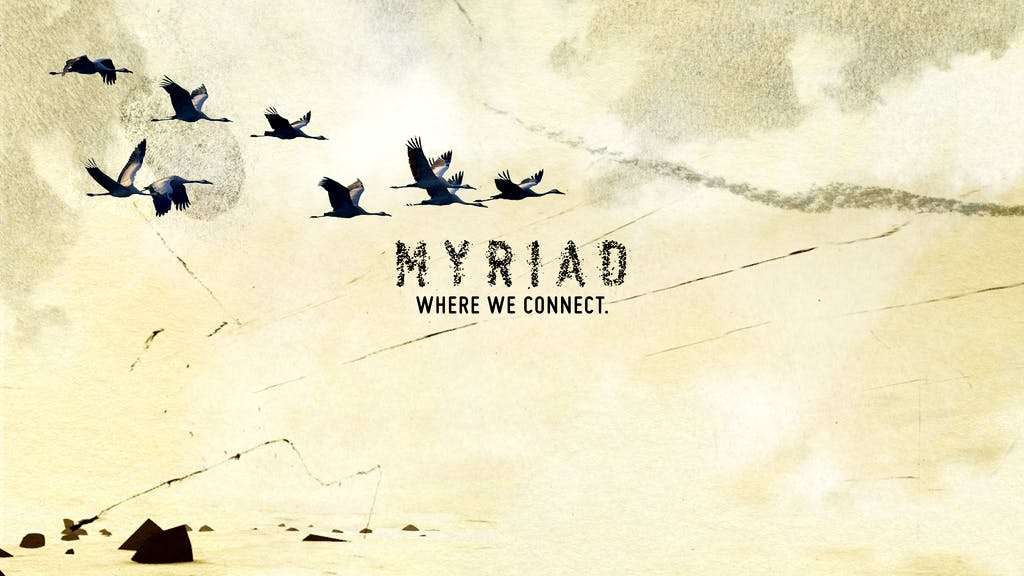 MYRIAD. Where we connect.