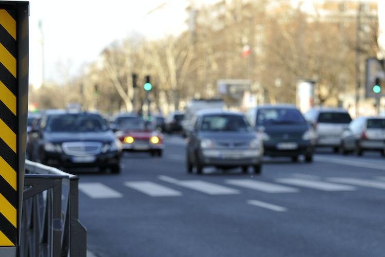 Radar et véhicules circulant en ville