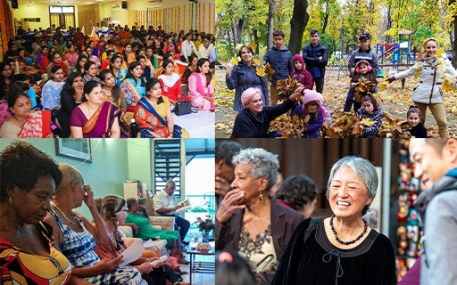 The Development of a Worldwide Community