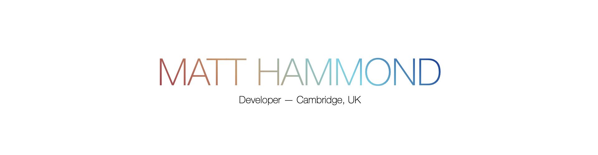 Matt Hammond